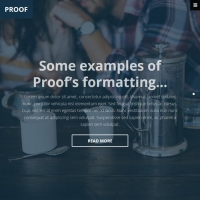Proof Child Theme for the Genesis Framework by Themedy