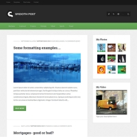 Smooth Post 2 Child Theme for the Genesis Framework by Themedy